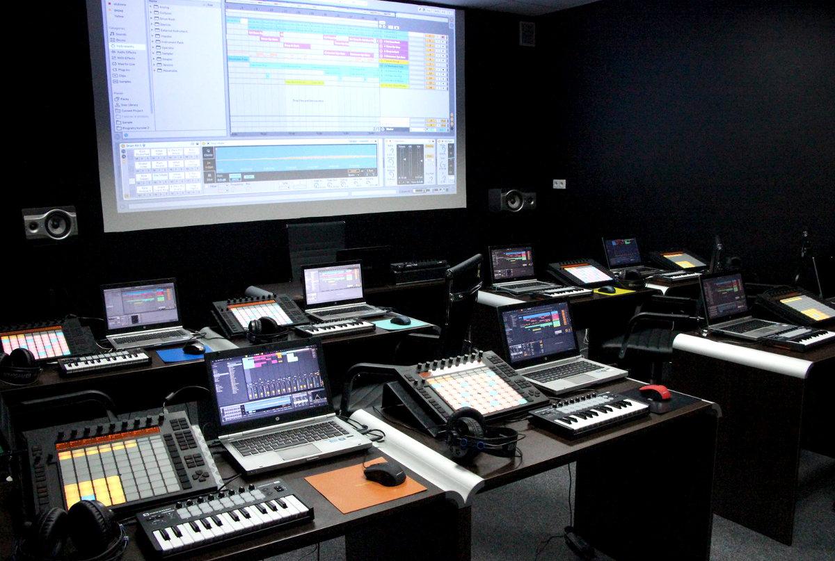 pracownia Akademii Dźwięku