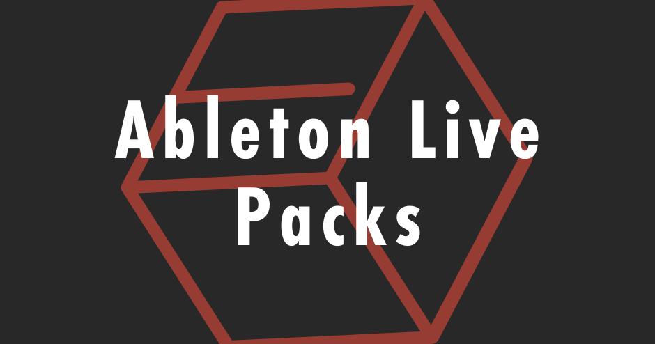 Ableton Live Packs