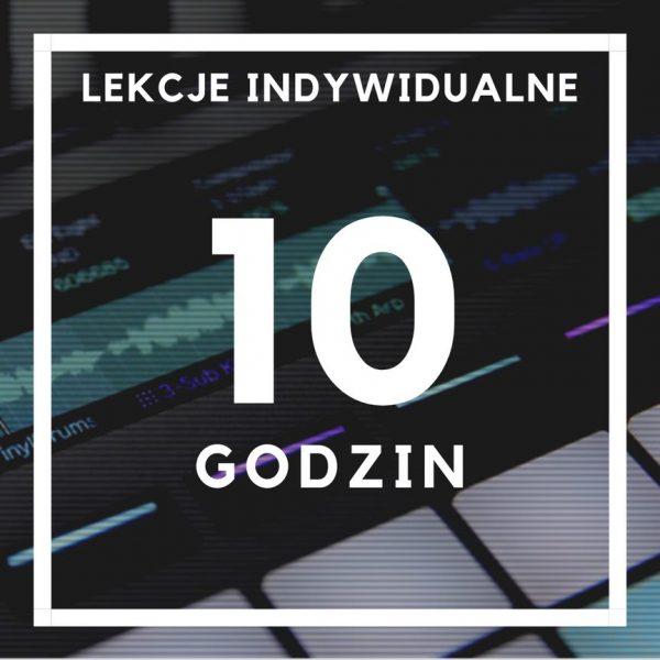 lekcje indywidualne - 10 godzin
