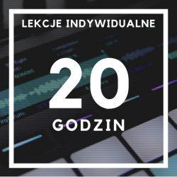lekcje indywidualne - 20 godzin