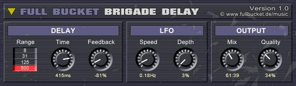 BBD delay