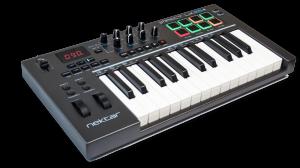 Nektar_Impact_LX25_MIDI_Controller-Keyboard_left
