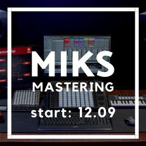 Kurs Miks i Mastering (niedziele)